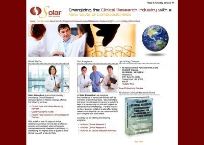 Solar Biomedical