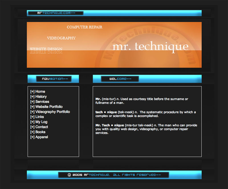 mrtechnique-web-design-2005