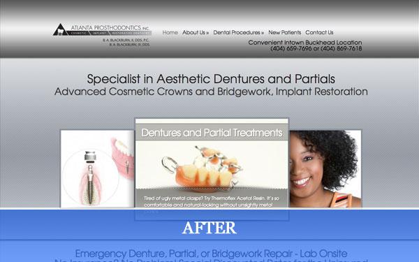 atlanta-prosthodontics-after-website-redesign