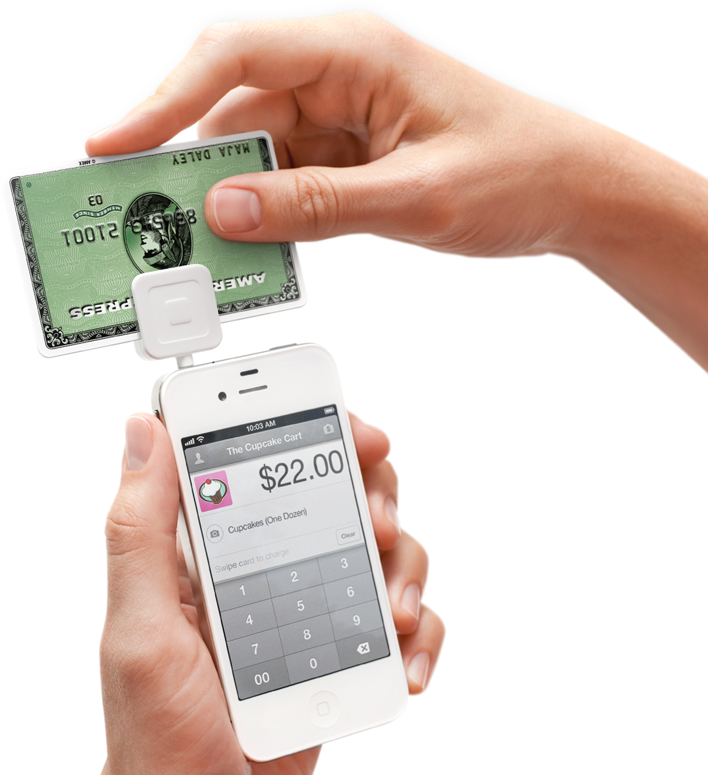 Take credit card payments on your phone