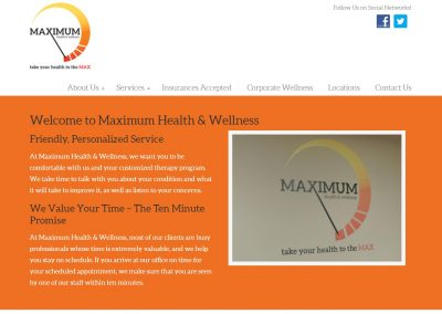 Maximum Health & Wellness