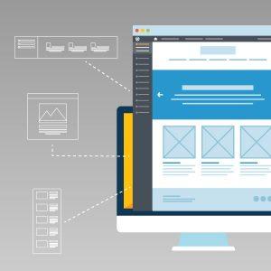 Customizable WordPress Theme Illustration