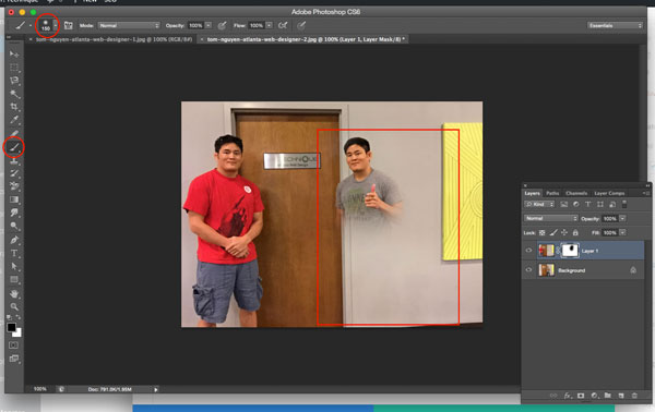 Photoshop Layer Mask Clone