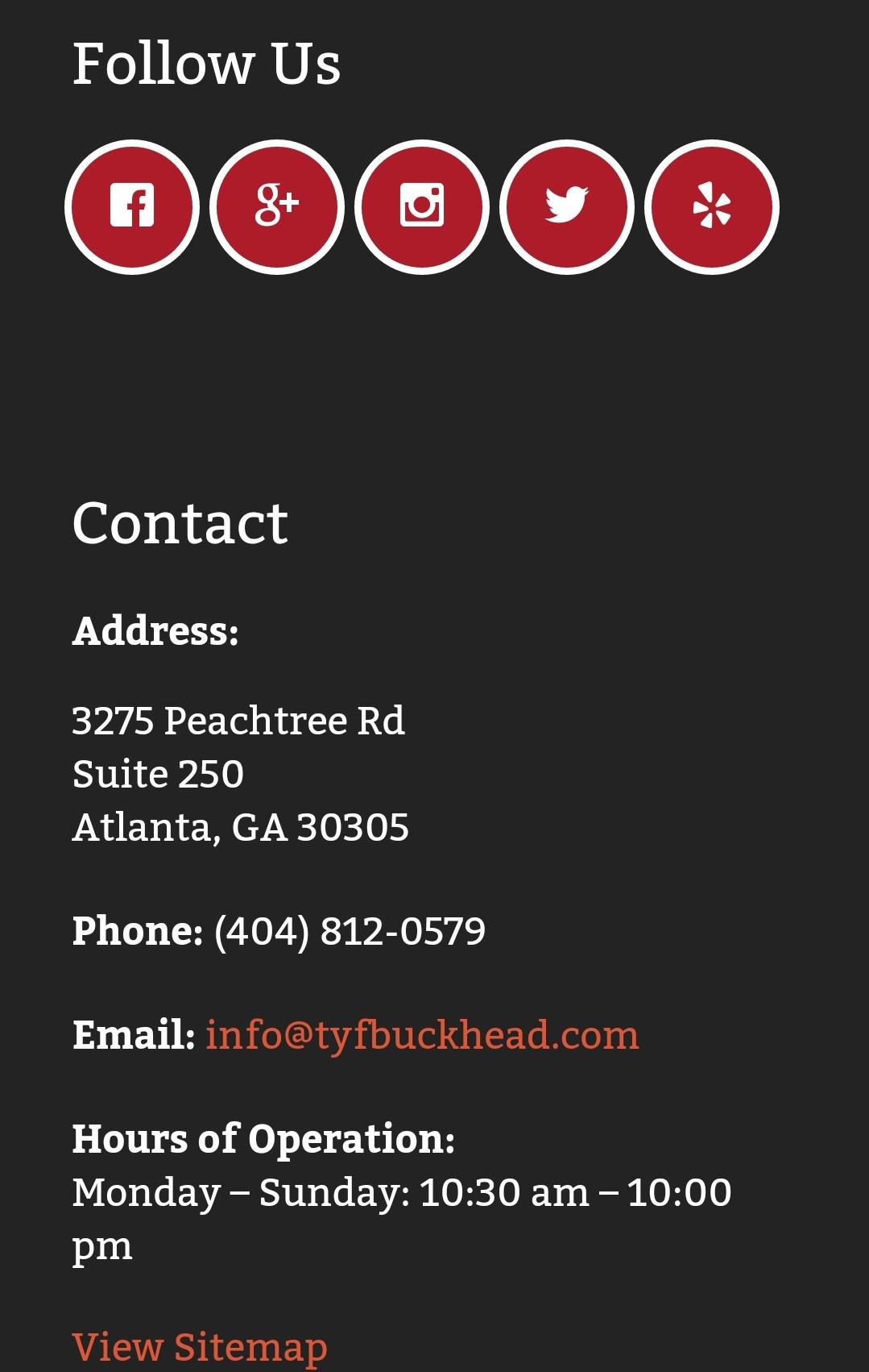 Treat Your Feet Buckhead Mobile Web Design 3