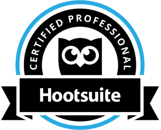 Certified Hootsuite Professional Badge