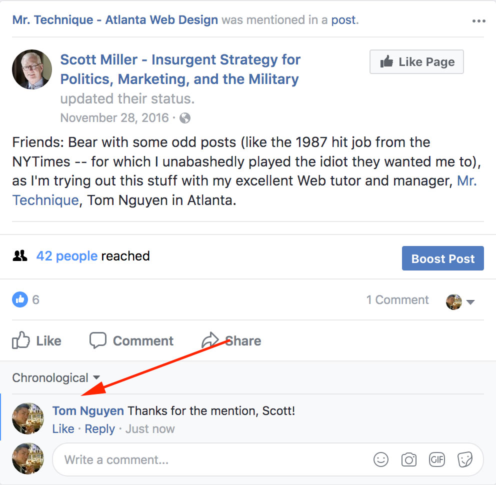 How to Post and Comment as Yourself on Your Facebook Company