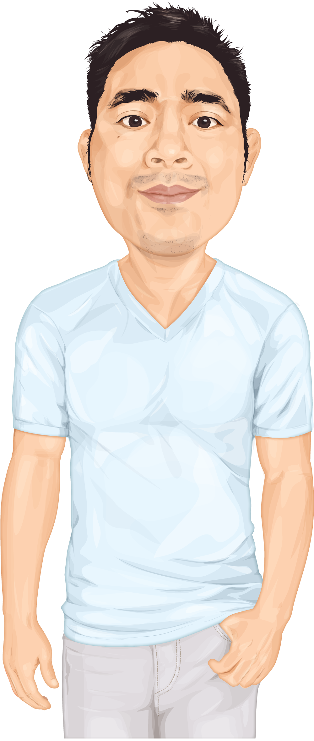 Tom Nguyen Caricature