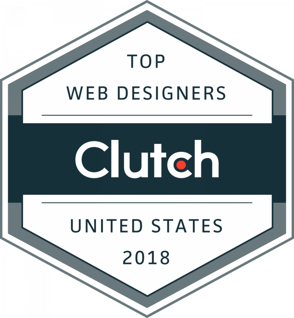 Clutch Top Web Designers in the United States 2018 Badge