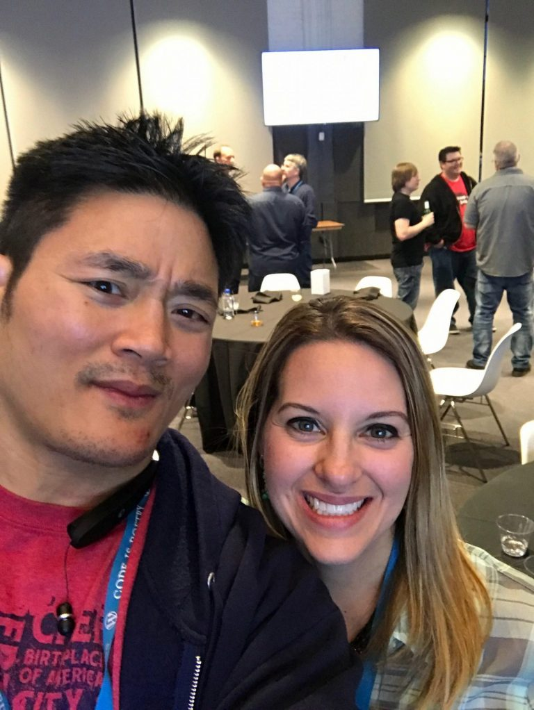 Atlanta SEOs, Tom Nguyen and Jenny Munn