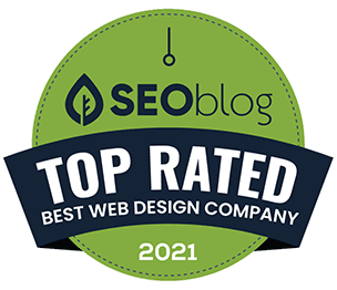 SEOblog Best Web Design Companies in the United States Badge