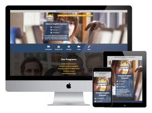 English Island Atlanta Responsive Web Design