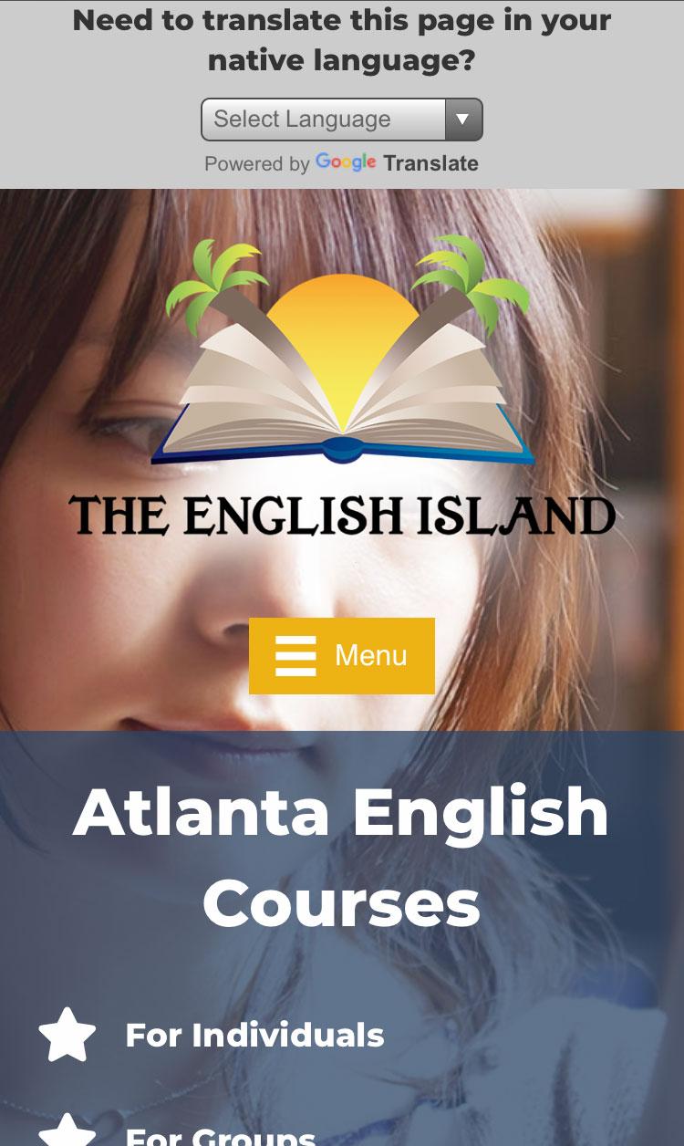 the-english-island-atlanta-mobile-web-design-screenshot