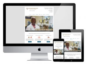 Conyers Denture & Implant Center Responsive Web Design