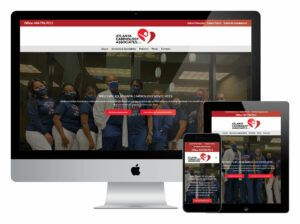 Atlanta Cardiology Associates Website Screenshots on Different Devices