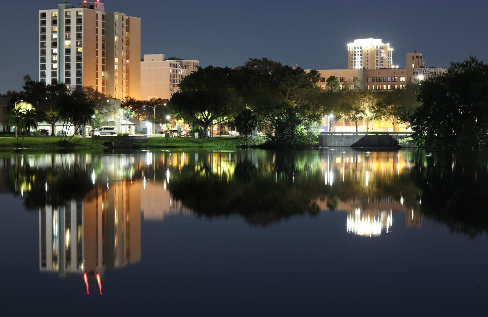 Mirror Lake Downtown St. Petersburg, FL